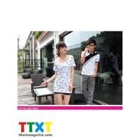 áo thun nữ hở vai cá tính Mã: AX1360