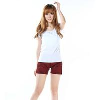 Quần short jeans cá tính Mã: QN325 - ĐỎ ĐÔ