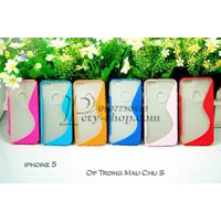 Ốp lưng trong chữ S iPhone 5 iPhone 5S