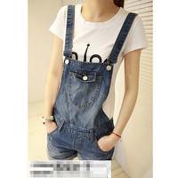 quần short jeans yếm cá tính Mã: QN464