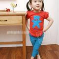 Bộ quần áo họa tiết gấu màu cam đáng yêu cho bé gái -BB 93