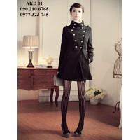 Bộ sưu tập Áo khoác dạ nữ phong cách Hàn Quốc mới nhất năm nay