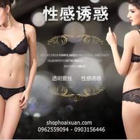Bộ đồ lót thun ren mịn hàng xuất khẩu Hiệu Victoria Secret  - XK047