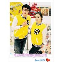 áo khoác đôi bóng chày korea Mã: AP110 - VÀNG