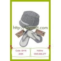 Giày + Mũ len cho bé - Handamde