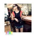 áo váy nữ dạo phố cá tính Mã: AV491 - ĐEN