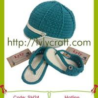 Giày + Mũ Len cho bé - SH24