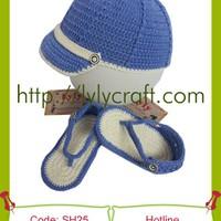 Giày + Mũ Len cho bé - SH25
