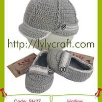 Giày + Mũ Len cho bé - SH27