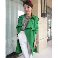 áo khoác nữ kiểu hàn quốc Mã: AO1466 - XANH LÁ