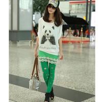 áo thun nữ oversize hình panda Mã: AX1704
