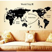 Decal dán tường Du lịch thế giới