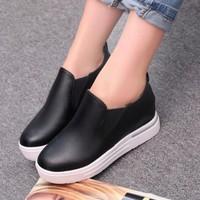 Giày Slip on da thời trang