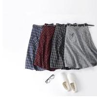 chân váy công sở 2 túi xéo TB0105