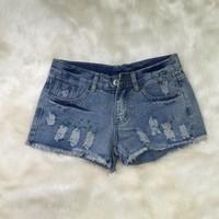 Quần short jean nữ - QS44