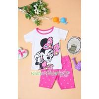 Bộ quần áo cho bé gái họa tiết chuột Mickey -  YY14