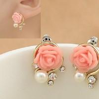 ctx_bt33_bông tai hoa hồng lãng mạn