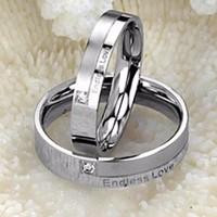 Nhẫn đôi Endless Love - Tình yêu không bao giờ kết thúc -