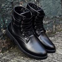 DC071 - Giày Boot men cá tính POSA