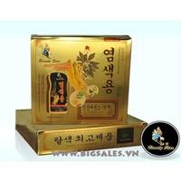 Dầu gội đen tóc phủ bạc dạng hộp 2 chai Chiết xuất nhân sâm Hàn Quốc