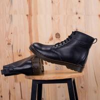 Giày da cao cổ Dr,martens sang trọng, lịch lãm