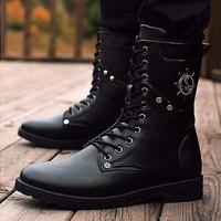 DC066 - Giày boot nam cá tính POSA