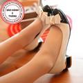 Giày Gót Vuông nữ Nơ Công Chúa - LN944