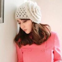 Mũ len thời trang, phong cách dễ thương - NL002