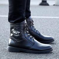 DC077 - Giày Boot men cá tính POSA