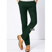 Quần kaki nam màu xanh rêu form body vải đẹp giá rẻ nhất
