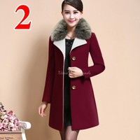 Áo khoác vest, blazer form dài lông vũ