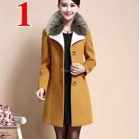 Aó khoác vest, blazer cao cấp form dài lông vũ cao cấp