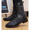 giày boot nam dây kéo đan dây Mã: GH0166