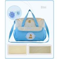 Túi xách đựng đồ cho bé ra ngoài 4# Xanh
