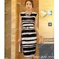 Mã số 580315 - Đầm ôm cao cấp phong cách