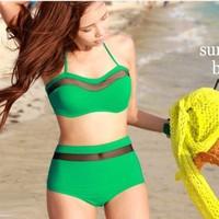 Bikini nữ kiểu dáng nổi bật, thiết kế buộc dây áo độc đáo-DB030