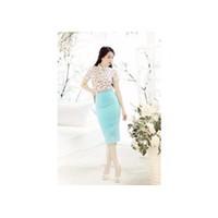 Chân váy bút chì xanh Ngọc Trinh V019