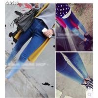 Quần jeans skinny chuyển màu Mã: QD588
