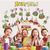Decal dán tường Angry Birds