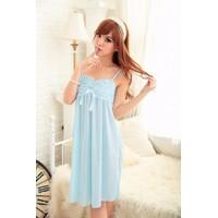 Váy Ngủ Đẹp Quyến Rũ Lụa Sóng MS484