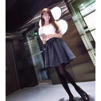 Bộ váy ngắn tay, thiết kế nữ tính - D037
