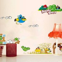 Decal dán tường Angry Birds to