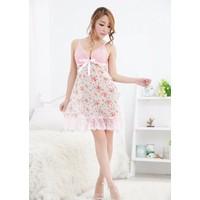 Đầm Ngủ Voan Giá Rẻ Voan Phượng MS512