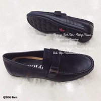 Giày Mọi Da Nam Q305-Đ