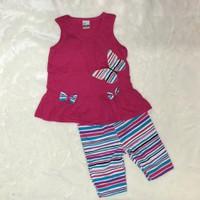 Bộ quần áo cho bé gái họa tiết con bướm