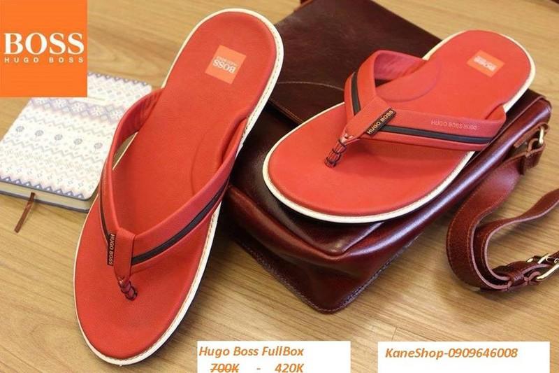 [KaneShop] Dép da HUGO BOSS Fullbox Made In Cambodia - Cực HOT! - 4