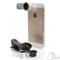 Lens Chụp Hình  Cho  Điện Thoại Và Máy Tính Bảng 3 in 1