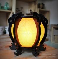 Ðèn xông tinh dầu Gỗ đèn lồng M0083