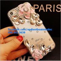 Ốp lưng hoa hồng đá cho Iphone và Samsung