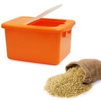 Thùng đựng gạo Tashing Plastic có nắp đậy